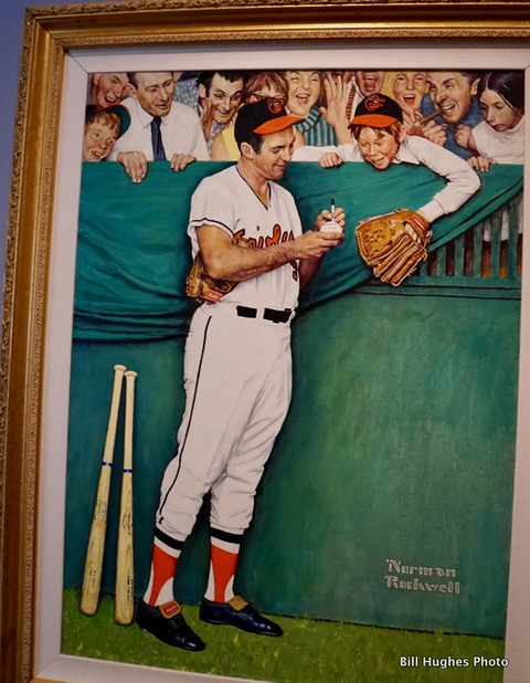 Brooks Robinson by Norman Rockwell