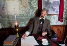 Lord Balfour - Walled-Off - Banksy Hotel - Bethlehem