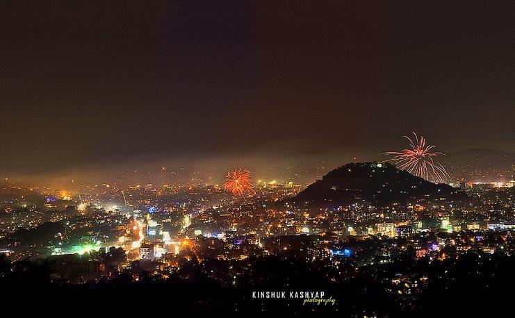Diwali in Guwahati