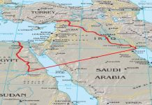 The Map of Greater Israel