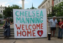 Chelsea Manning Welcome Home