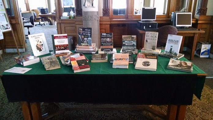 Black History Month Book Display