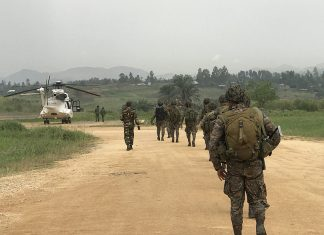 Bunia - Ituri Province - DR Congo: MONUSCO Guatemala and Bangladesh Contingents ready to confront illegal armed groups