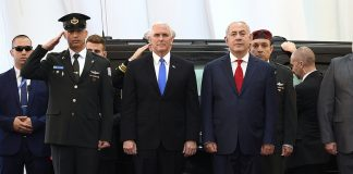 VP Pence meet with PM Netanyahu