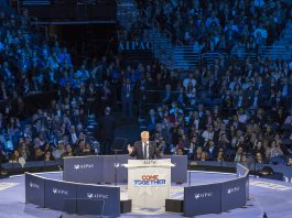 Donald Trump Speaking at AIPAC
