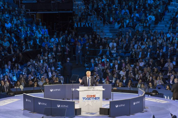 Donald Trump Speaking at AIPAC