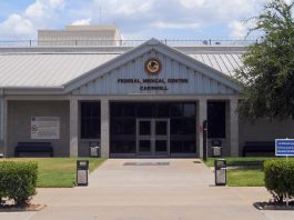 Federal Medical Center - Carswell - where Siddiqui is currently located