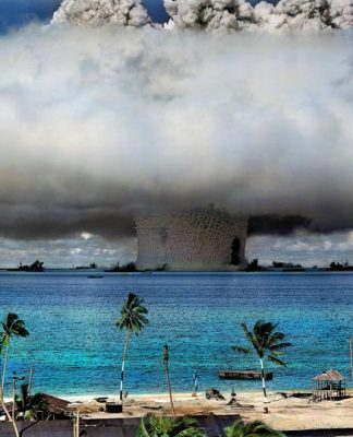 US nuclear weapons test at Bikini in 1946