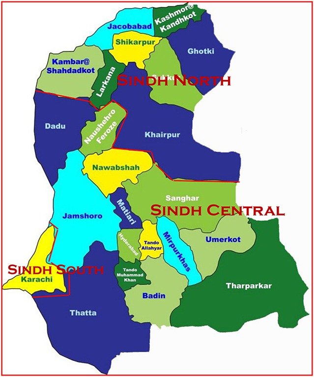 Sindh - Three Provinces on administrative grounds