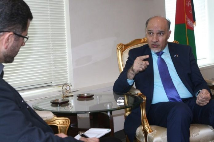 Afghan ex-envoy thanks Iran for unwavering support at UN