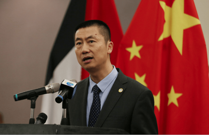China rejects Israel's endeavors to annex parts of Palestinian territories – diplomat