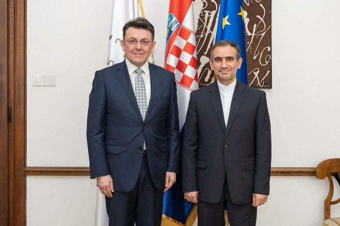 Croatia keen on boosting all-out ties with Iran