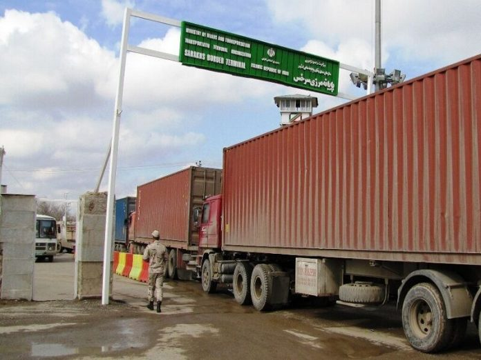 Disinfection tunnels installed on borders with Turkmenistan