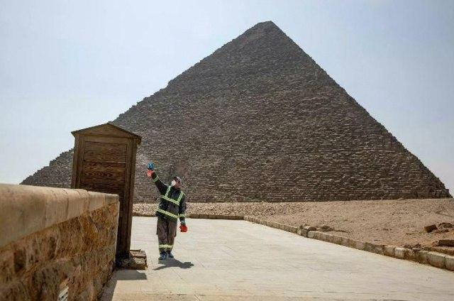 Egypt's archaeological sites are open to tourists