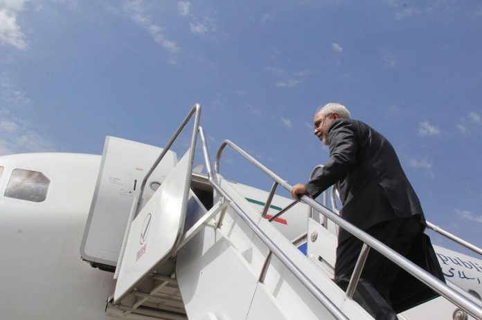 FM Zarif heads for Moscow