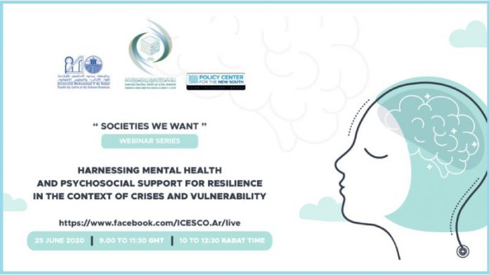 ICESCO webinar to discuss mental health and strengthening resilience during crises