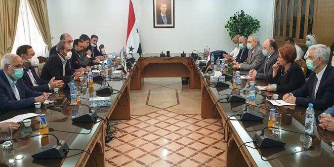 Iran, Syria emphasize developing scientific relations