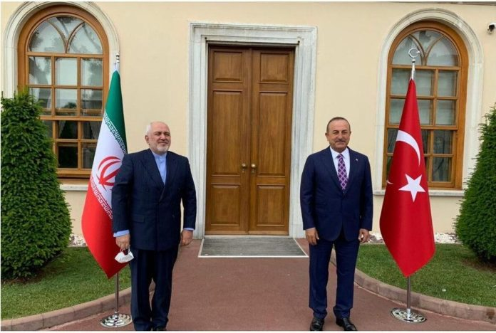Iran, Turkey confer on regional issues
