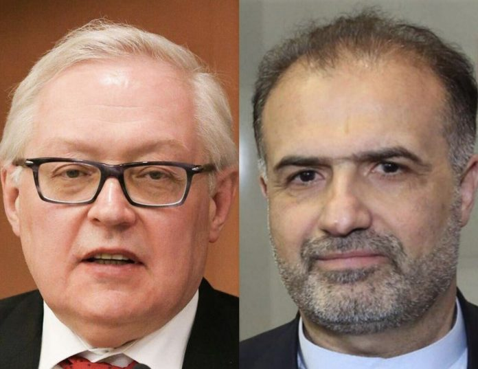 Iran's envoy, Russia's deputy FM discuss US recent moves against Tehran