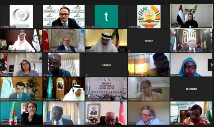 OIC chief calls for using cyberspace to find alternatives allowing continued cultural activities