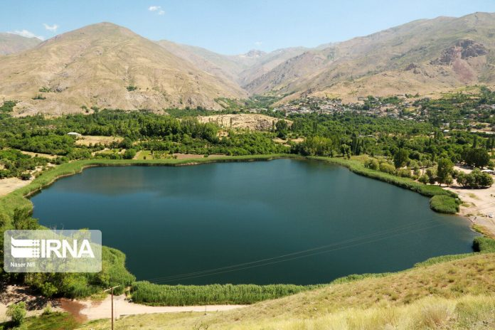 Ovan Lake, beautiful tourism destination on northwestern Iran
