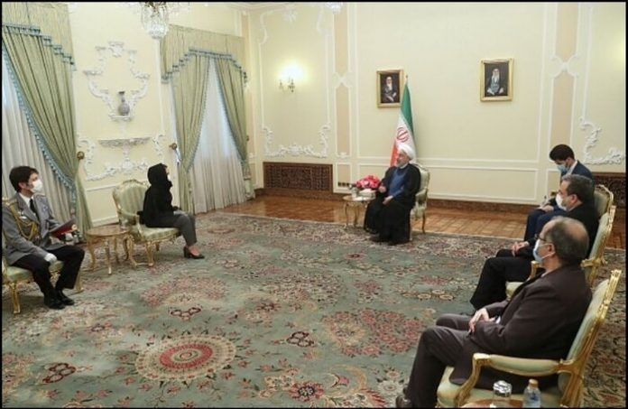 Pres. Rouhani calls for expanding all-out coop, ties with Bulgaria