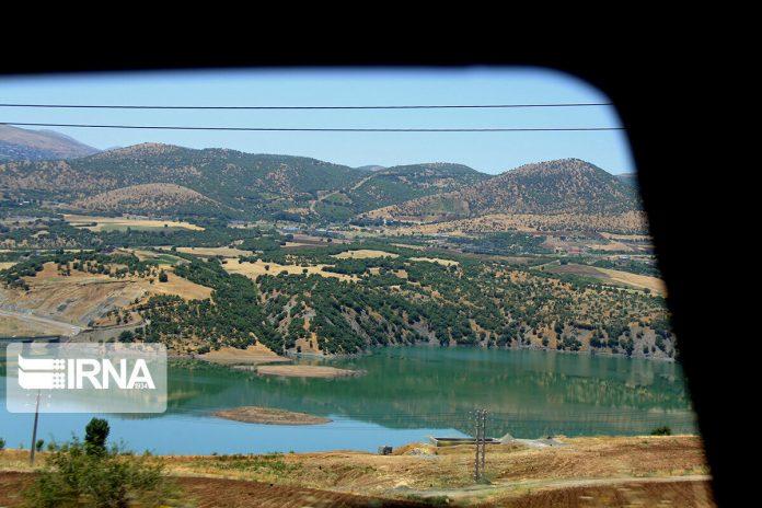 Sardasht Dam; Beautiful tourist resort on northwestern Iran
