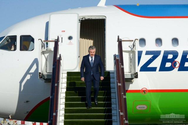Shavkat Mirziyoyev returns to Tashkent