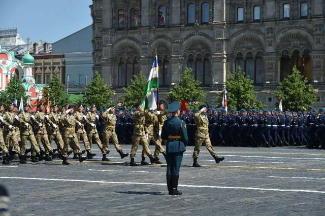 Victory Parade in Moscow