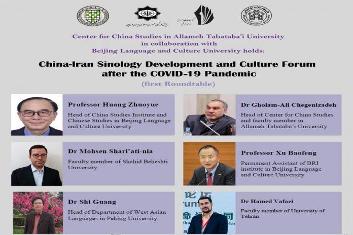 Virtual round-table on Iran-China cultural ties