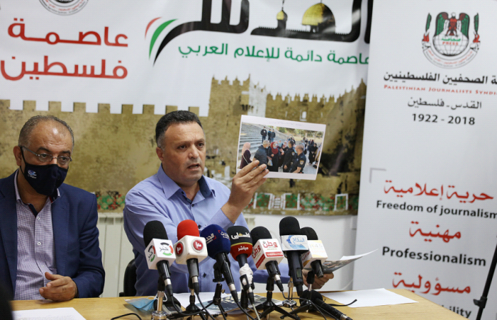 259 violations against Palestinian journalists committed in first half of 2020