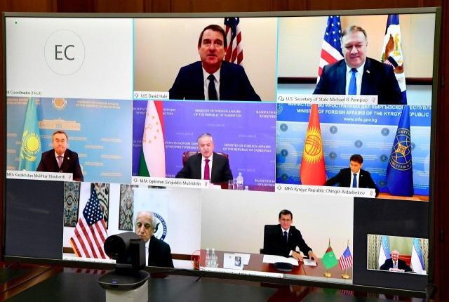 Abdulaziz Kamilov attends Central Asia – USA MFA Meeting