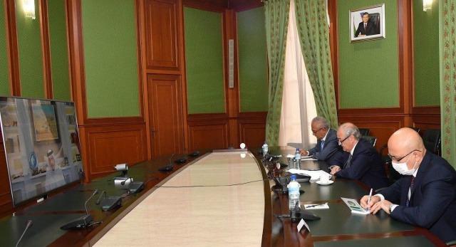 Abdulaziz Kamilov holds talks with the Deputy Prime Minister of Qatar