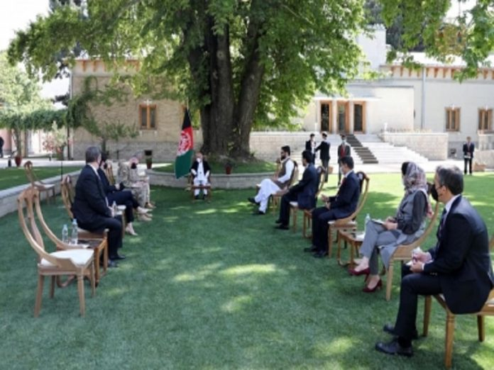 Afghan President Ghani, Gen. McKenzie discuss peace, security cooperation