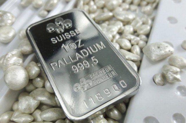 Almalyk Mining and Metallurgical Plant receives palladium