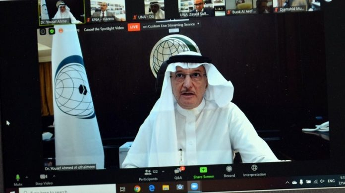 At UNA Forum, Al-Othaimeen highlights OIC's efforts to combat COVID-19 pandemic