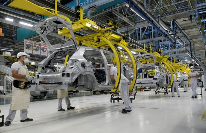 Auto production down 50.5% in first half-year