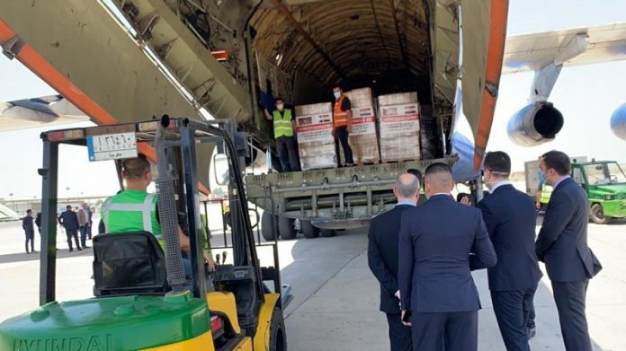Azerbaijan provides medical aid to Iraq in support of anti-COVID-19 efforts