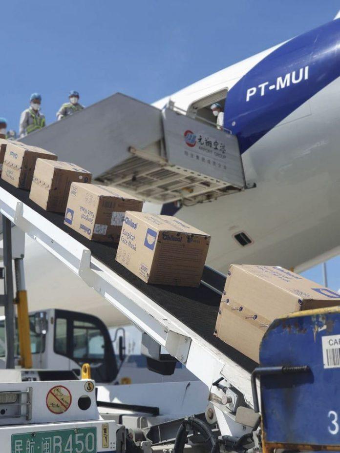 Brazil receives record shipment of 11.8 million masks