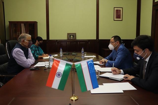 CCI hosts a meeting with the Ambassador of India to Uzbekistan