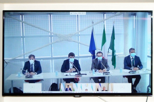 IFT Minister holds a videoconference with the President of Lombardy region