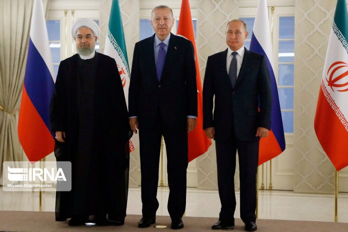 Iran, Russia, Turkey start online conference on Syria peace process