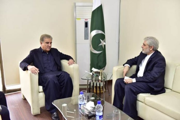 Iran envoy wishes Pakistan FM speedy recovery from Covid-19