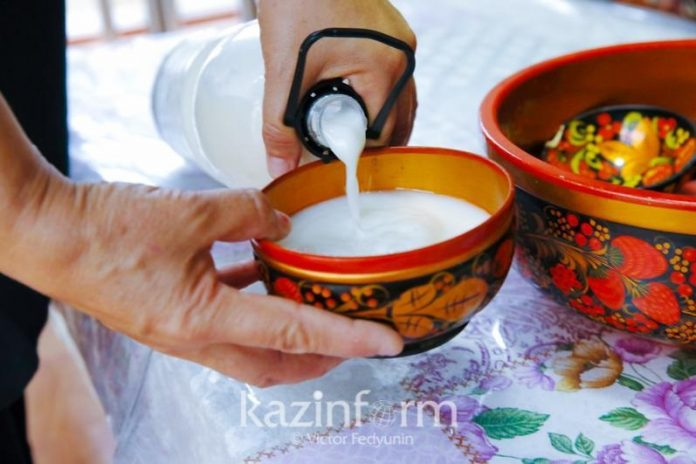 Kazakhs turn to traditional drink to fight off infections