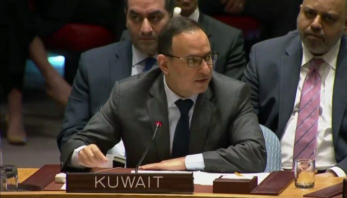 Kuwait calls on Security Council to end Israeli crimes against Palestinians