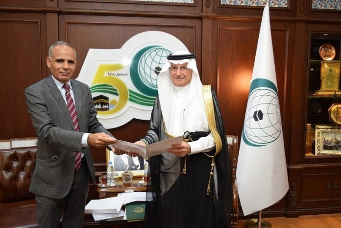 Mauritania's envoy presents credentials to OIC Secretary General
