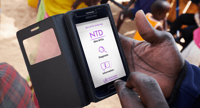 Neglected tropical diseases of the skin: WHO launches mobile application to facilitate diagnosis