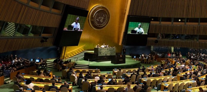 Provisional agenda of 31st special session of UN General Assembly announced