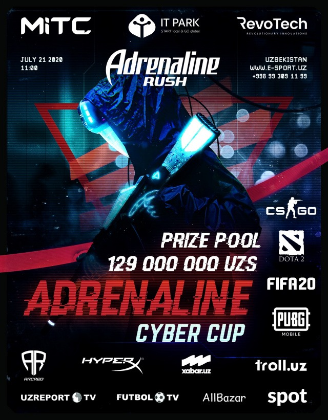 Registration for Adrenaline Cyber Cup begins
