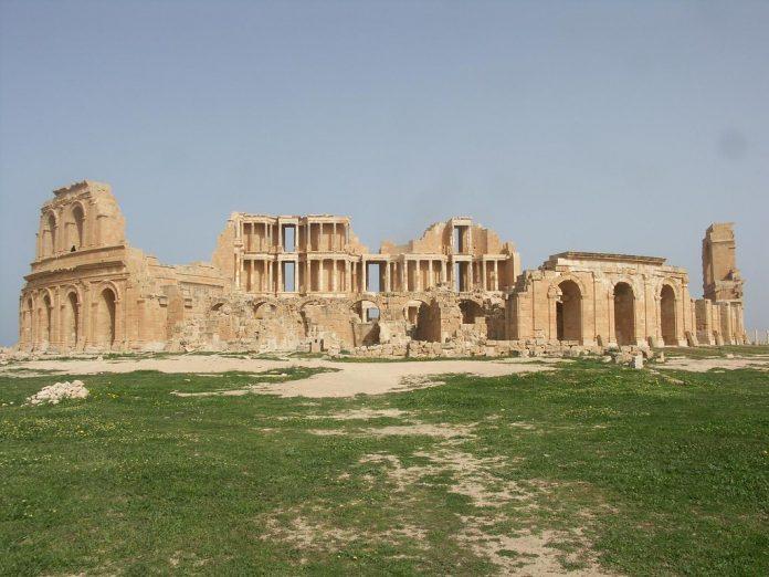 Roman theatre Sabratha Libya